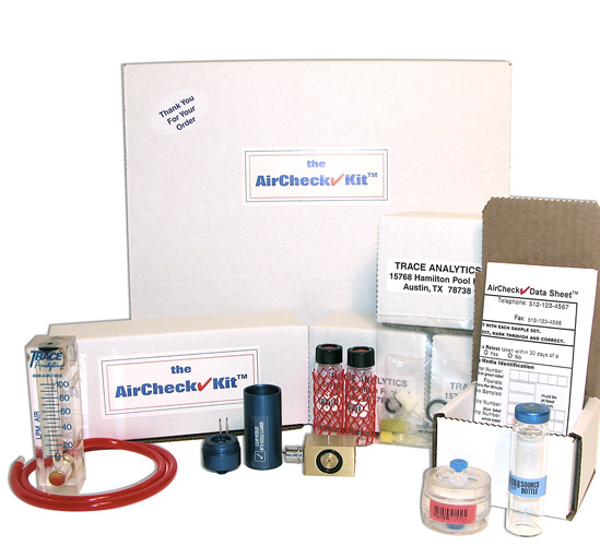 Compressed Air Testing Kit for PADI members