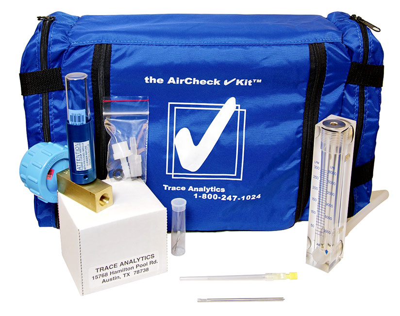 Compressed Air Testing Kit for Medical Gases