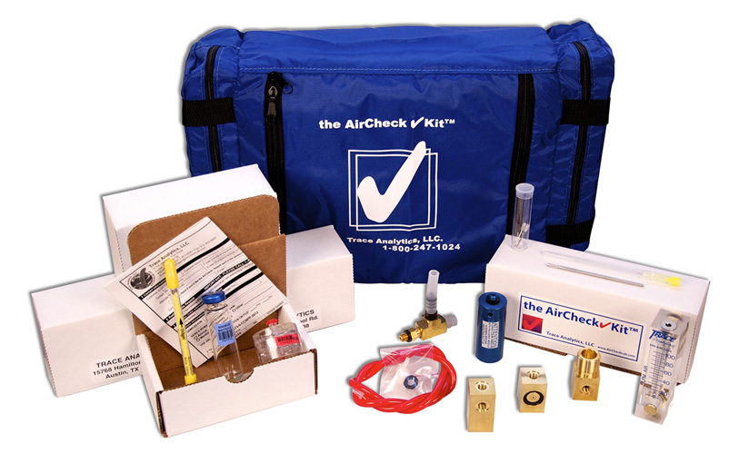 Compressed Air Testing Kit for Breathing Air